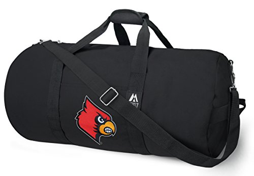 OFFICIAL Louisville Cardinals Duffle Bag or University of Louisville Gym Bags Suitcases (Louisville Cardinals Bag Duffle)