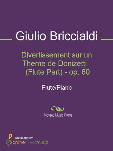 n Theme de Donizetti    (Flute Part) - op. 60 ()