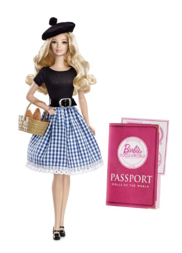 Barbie Collector Dolls of The World-France Doll