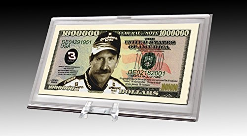 (Dale Earnhardt Million Dollar Novelty Bill Collectible)
