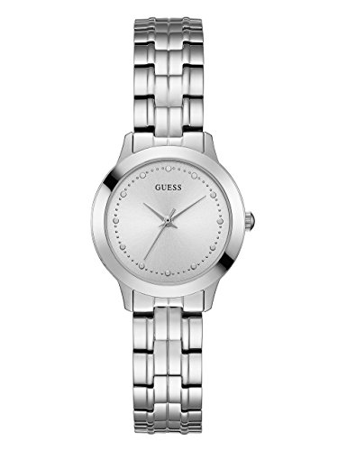 GUESS  Classic Slim Stainless Steel Bracelet Watch. Color: Silver-Tone (Model: ()