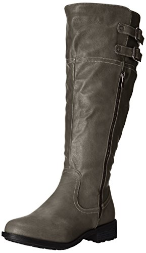 High Wide DREAM Grey Bradenn Calf PAIRS Boot Women's Knee 6fqIROf