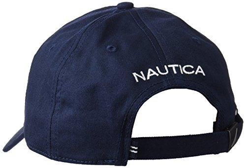 9eeff41bd93fc5 Nautica Men's Standard Classic Logo Adjustable Baseball Cap Hat, Castle  Rock, One Size at Amazon Men's Clothing store: