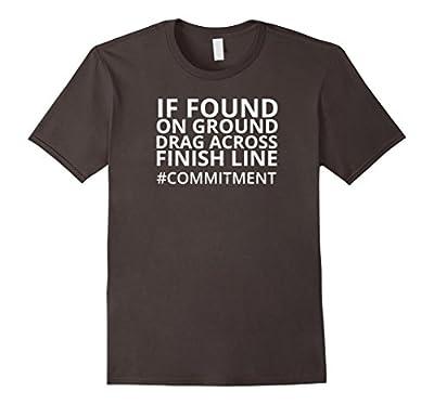 Funny Running T-Shirt #Commitment Runner Jogger Life Shirt