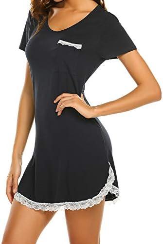 Ekouaer Womens Nightgown Cotton Sleepwear product image
