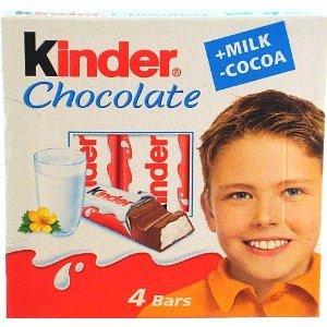 Amazon.com : Kinder Chocolate Milk and Cocoa Chocolate Bars 1.77 ...