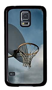 Sport Fan Series Basketball Cover Case for Samsung Galaxy S5