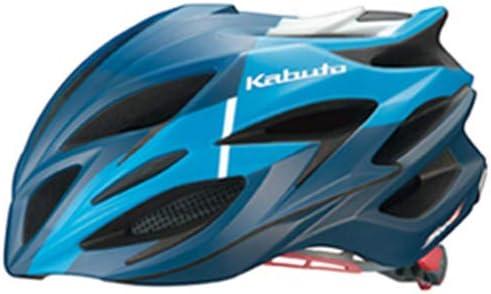 OGK KABUTO(オージーケーカブト) ヘルメット STEAIR コルサマットブルー サイズ:S/M (頭囲 55cm-58cm)