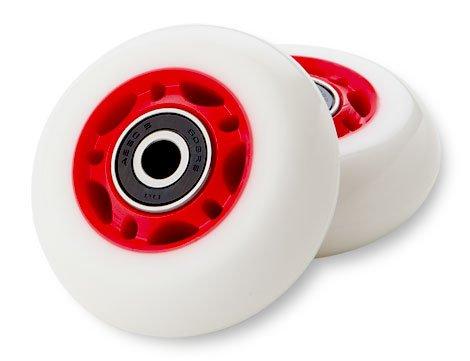 /Ruedas de repuesto 76/mm/ Riprider y ripstik/ Razor Crazy Cart flashrider /Rojo