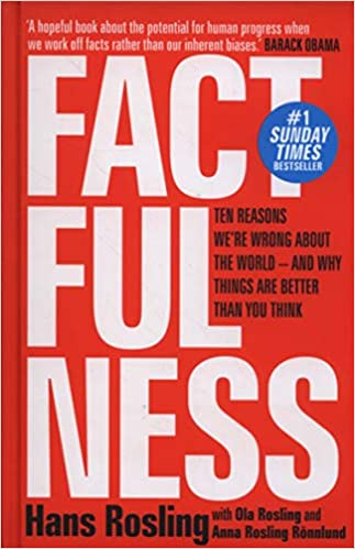 Factfulness: Ten Reasons We're Wrong About The World – And Why Things Are Better Than You Think Board book