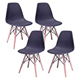Just Home Set 4 Sillas Eames Decoración Modernas Vintage Comedor Hood