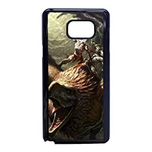Design Cases Shell Samsung Galaxy Note 5 Cell Phone Case Black bog vojny god of war igry risunki Eplsb Printed Cover