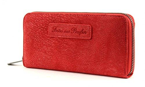 Fritzi aus PreußenNicole - Billetera Mujer SignalRed (Rojo)