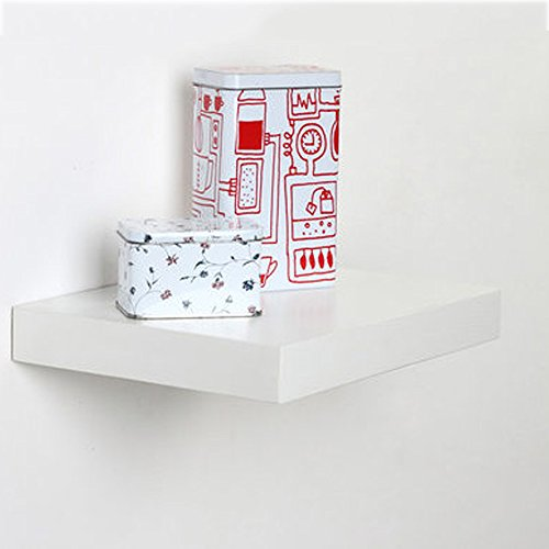 Maple Corner Tv Stand (Shelves MEIDUO Shelf Wall Mount 30cm Living Room Wall Decoration Shelf 30204CM (Color : White Maple))