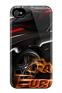 New Premium Flip Case Cover Fast And Furious 6 Muscle Car Skin Case For Iphone 4/4s