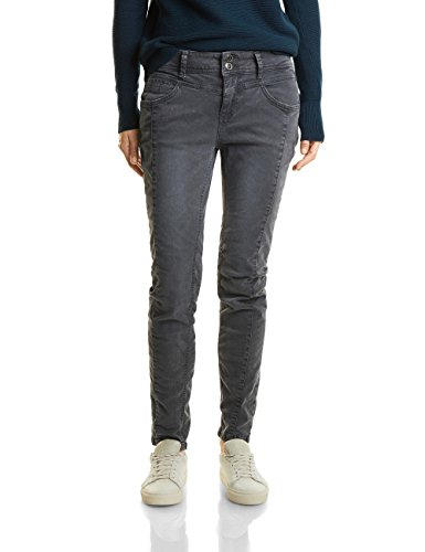 11129 neo Authentic One Vaqueros Slim Para Wash Grey Gris Street Mujer FRwxqv