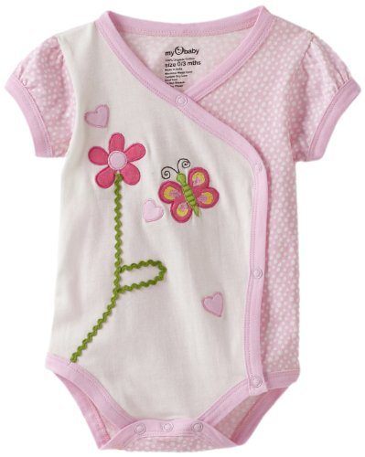 my O baby Baby-Girls Newborn Bodysuit