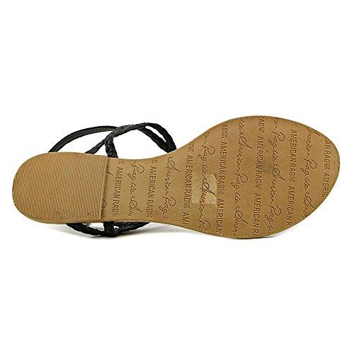 Américain Rag Keira Femmes Rouge String Sandale Noir