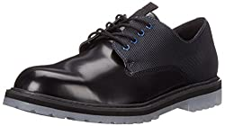 CK Jeans Men's Helix Matte Box/Nylon Oxford, Black/Midnight, 7 M US