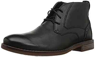 Rockport Men's Karwin Chukka Chukka Boot, Black, 6.5 W US