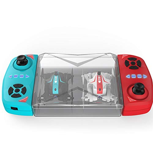 Likero Remote Control Drone AG-03S Foldable 720P Quadcopter,Headless 360 Mini Aircraft Battle Flips (Quadcopter (with Battery) x2) by Likero (Image #9)
