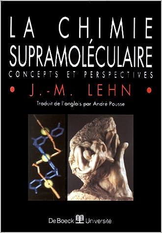 Livres gratuits La chimie supramoléculaire. Concepts et perspectives epub, pdf