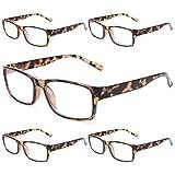 Gaoye 5-Pack Reading Glasses Blue Light
