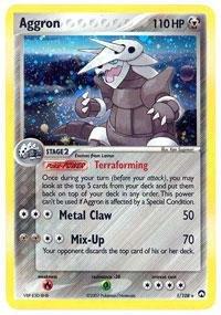 (Pokemon - Aggron (1) - EX Power Keepers - Reverse Holofoil)