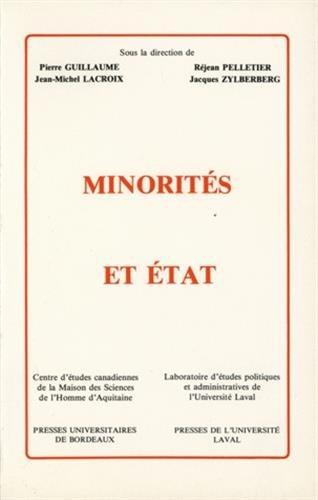 Minorités et Etat (French Edition)
