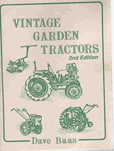 (Vintage Garden Tractors)