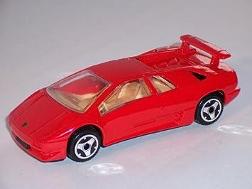 Lamborghini Diablo Rot Coupe Red 1 43 Bburago Burago Modellauto