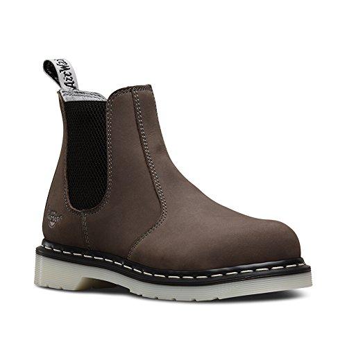 Dr. Martens Women's Arbor Chelsea Boots, Grey, 5 UK, 7 US