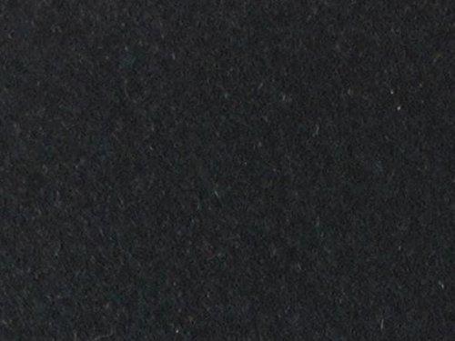 Organic Cotton Plus Merino Wool Felt - Black - 8 Inch x 12 inch ()