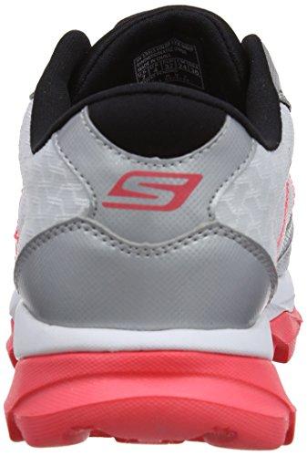 Skechers Go Run Ultra - Sandalias deportivas Mujer, Black/White/Lime, 41