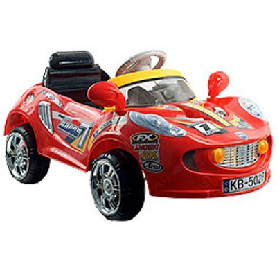 Lil Rider Battery Powered Sports Car W Remote Crimson