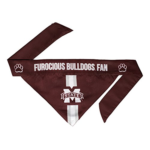 NCAA Mississippi State Bulldogs Pet Bandanna, Small
