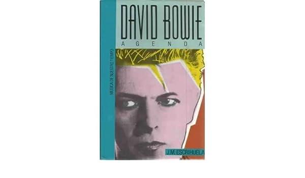 DAVID BOWIE. AGENDA.: Amazon.es: J. M. Escrihuela: Libros