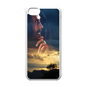 Bob Marley iPhone 5c Cell Phone Case White aabi
