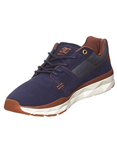 DC Shoes Herren Schuhe Player Se, Zapatillas de Skateboarding para Hombre Azuloscuro
