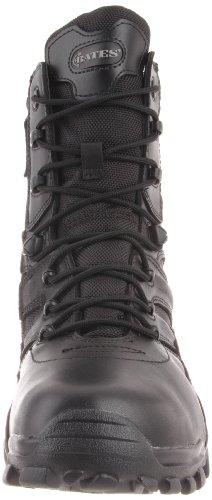 Bates Mens Delta Side-Zip 8 Inch Uniform Boot Black pQDCr5oO