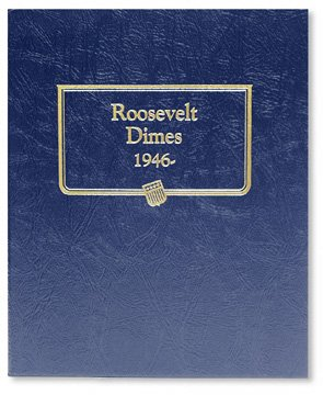 Whitman Harris Roosevelt Dimes Album, 1946-Date