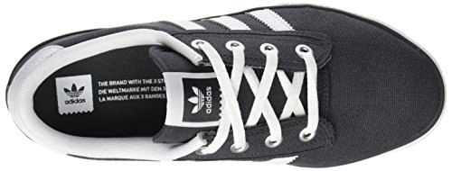 adidas Kiel, Chaussures de Skate Mixte Adulte Gris (Dgh Solid Grey/Ftwr White/Carbon)