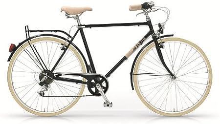 MBM Elite - Bicicleta de mujer u hombre, diseño vintage clásico ...