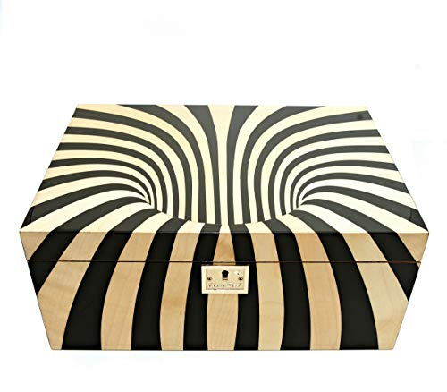 Cigar Star Boketto Humidor Limited Edition Optical Illusion Made from Wood! by Cigar Star (Image #1)