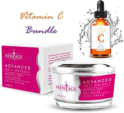Advanced Anti-Wrinkle Cream Anti Aging Retinol Moisturizer. Best Vitamin C Retinol Facial Moisturizer, Best Anti Wrinkle Cream, Fades Age Spots and Sun Damage. - NewAge