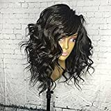 Dream Beauty Wave 360 Lace Frontal Wig 180% Density Full Lace Band Human Hair Wigs For Black Women Pre Plucked Hairline with Baby Hair (12)