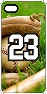 Baseball Sports Fan Player Number 23 White Rubber Decorative iphone 6 plus Case