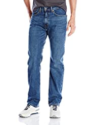 Levi\'s Men\'s 505 Regular Fit Jean, Rooster-Stretch, 34Wx30L
