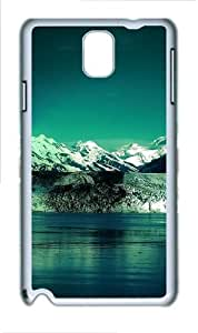 Icy Waters Custom Samsung Galaxy Note 3/ Note III / N9000 - Polycarbonate - White
