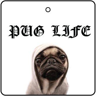 Pug Life Car Air Freshener